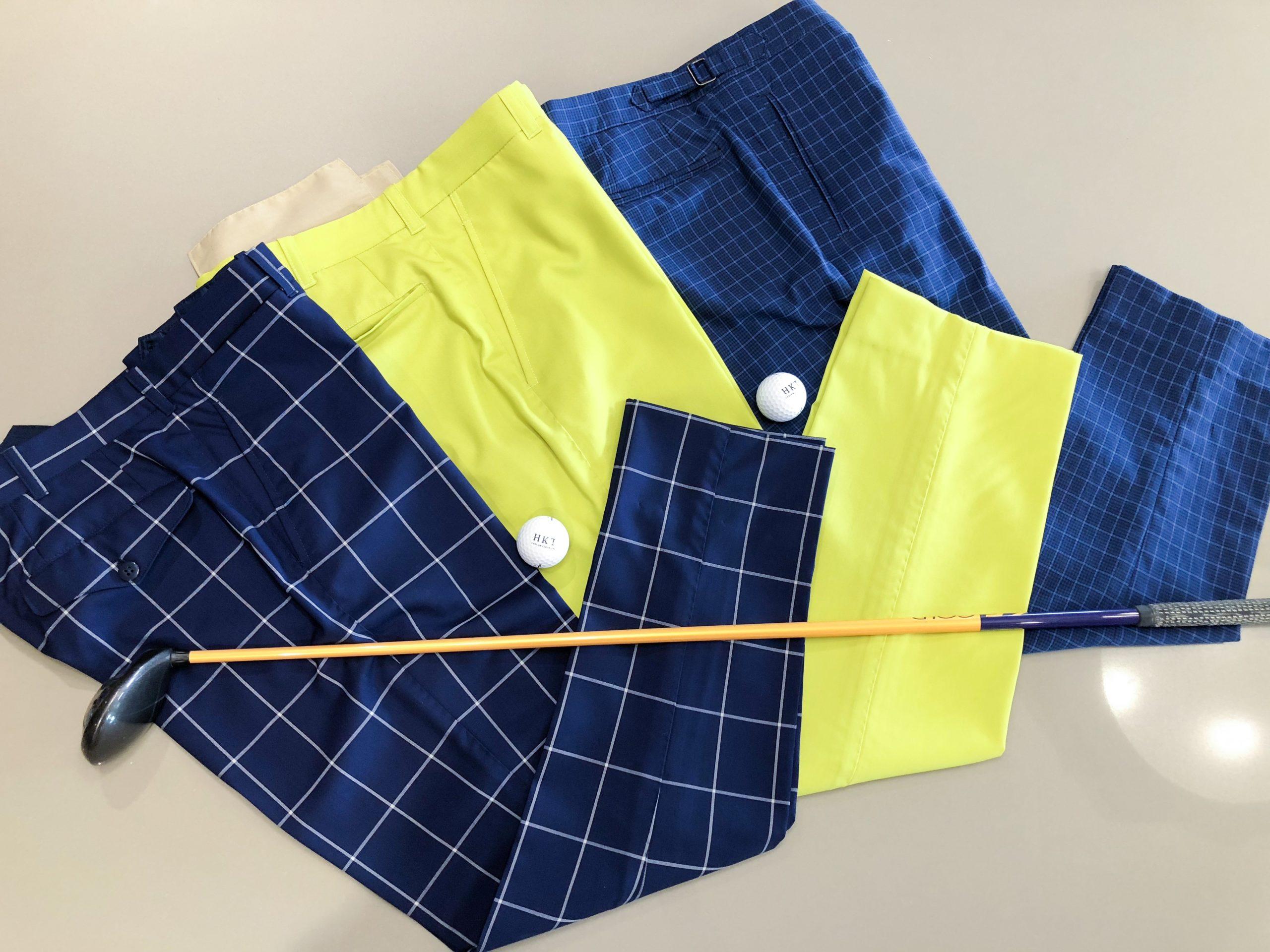 Bespoke Golf Pants and Custom Made Polos