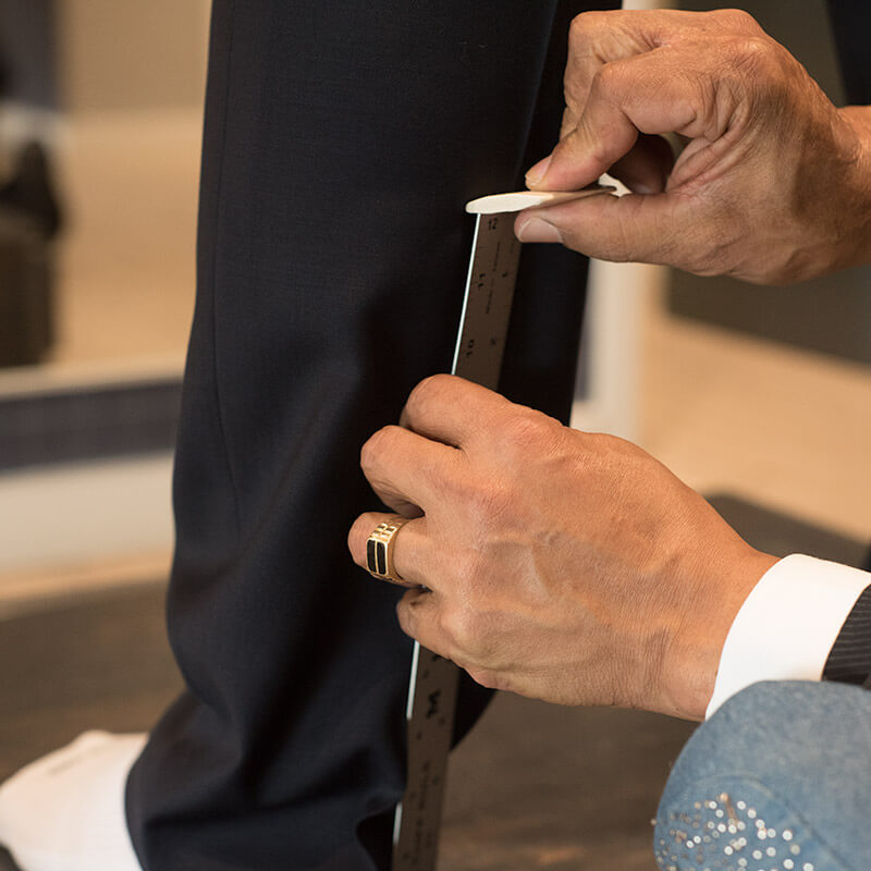 $300 suit to $1,000 suit – That's the power of our bespoke alterations